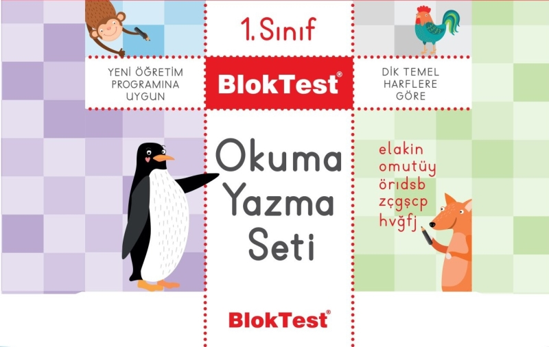 Bloktest 1 Sinif Okuma Yazma Seti